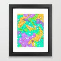 Liz, Amanda, Neko, And M… Framed Art Print