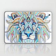 Blue Ethnic Lion Laptop & iPad Skin