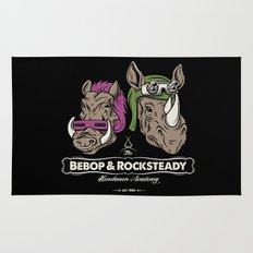 Bebop & Rocksteady Henchmen Academy  Rug