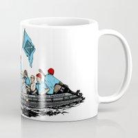 Team Zissou Crossing the Delaware Mug