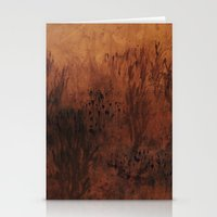 Gold Print Stationery Cards