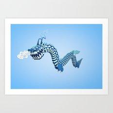 Dragon-Air Art Print