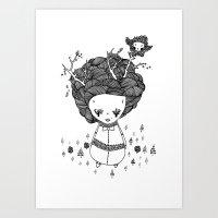 Treegirl Art Print