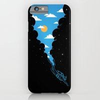 iPhone Cases featuring Skydiver by Enkel Dika