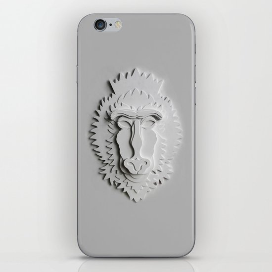 """Mandrill King"" iPhone & iPod Skin"