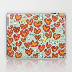 lightning hearts Laptop & iPad Skin