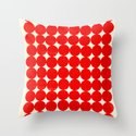 Unity Red Throw Pillow