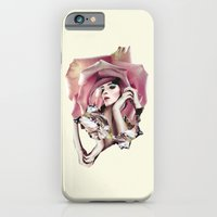 iPhone Cases featuring Maria by renaphuah