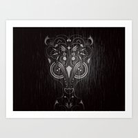 Bambi on acid Art Print