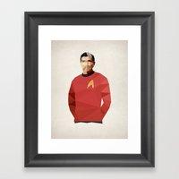 Polygon Heroes - Scotty Framed Art Print