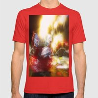 In A Blur Mens Fitted Tee Red SMALL