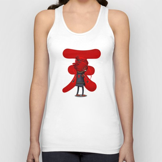 Raging Demon Unisex Tank Top