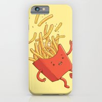 French Fries Fall iPhone 6 Slim Case