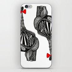Hairy Heart iPhone & iPod Skin