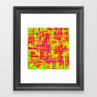 Smoke Digital 2 Framed Art Print