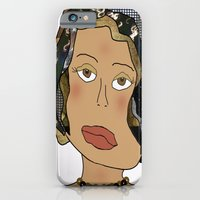 iPhone & iPod Case featuring Digital Paper Doll 02 by Susan Carver Williams
