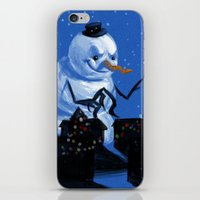 Snowzilla iPhone & iPod Skin