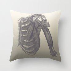Anatomy 2 Throw Pillow