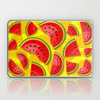 Watermelon And Pineapple… Laptop & iPad Skin