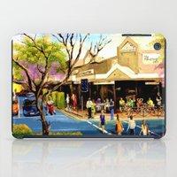 Sidewalk Cafe iPad Case