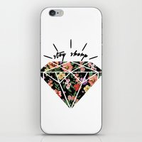 Stay Sharp! iPhone & iPod Skin