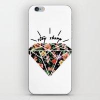Stay Sharp! iPhone & iPod Skin
