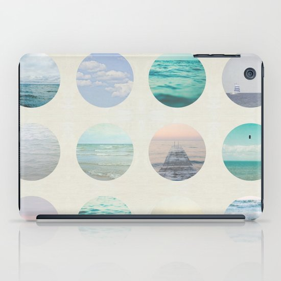Ocean Polka dot  iPad Case