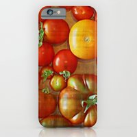 iPhone & iPod Case featuring Heirloom Tomatoes by Arts and Herbs