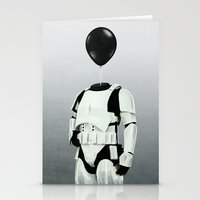The Stormtrooper - #2 in the Balloon Head Series Stationery Cards
