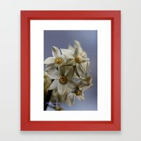 Window Garden Framed Art Print