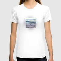 Beach Feeling Womens Fitted Tee White SMALL