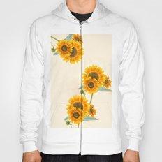Sunflowers paterns Hoody