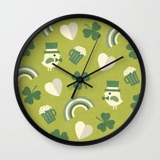 TOP O' THE MORNIN' Wall Clock