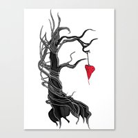 Love, Like A Tree Canvas Print