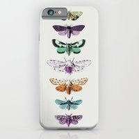 iPhone Cases featuring Techno-Moth Collection by Zeke Tucker
