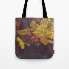 Honey Bee: Gold Tote Bag