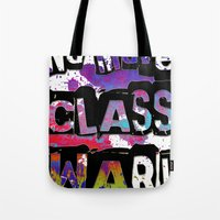 NO MORE CLASS WAR Tote Bag