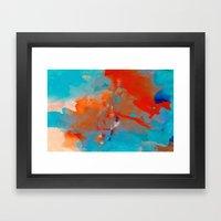 ANALOG Zine - Treble Cle… Framed Art Print