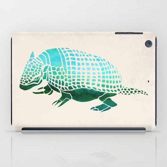 Watercolor Armadillo iPad Case