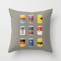 Pop Culture Throw Pillow