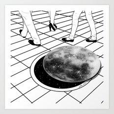 Moonhole Art Print