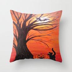 Halloween Throw Pillow