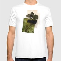 ISLAND Mens Fitted Tee White SMALL