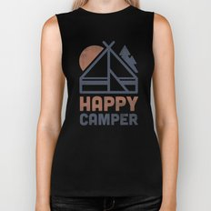 Happy Camper Biker Tank