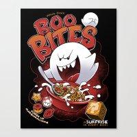 Boo Bites Canvas Print