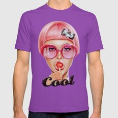Cool Redux Mens Fitted Tee Ultraviolet SMALL