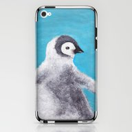 iPhone & iPod Skin featuring Cotton Penguin by KeithKarloff