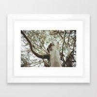 San Francisco Tree Framed Art Print