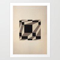 Fuzzy Gestalt 03 Art Print