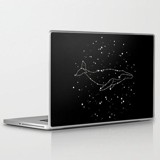 Whale Constellation  Laptop & iPad Skin